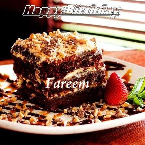 Happy Birthday Cake for Fareem