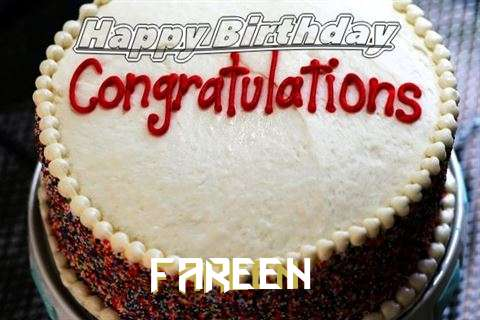 Happy Birthday Fareen