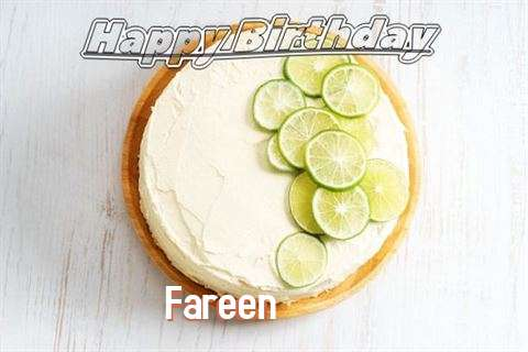 Happy Birthday to You Fareen