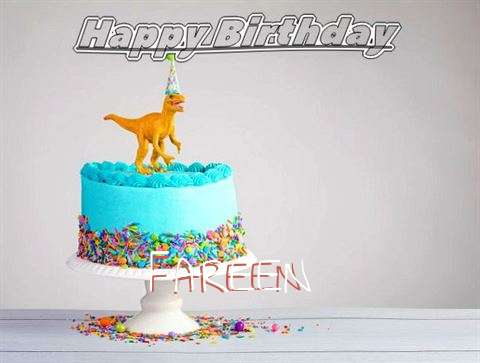 Happy Birthday Cake for Fareen
