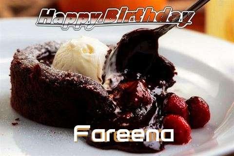 Happy Birthday Wishes for Fareena