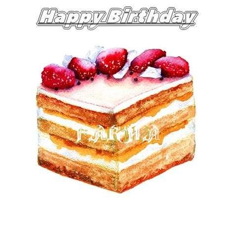 Happy Birthday Farha