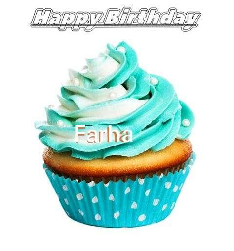 Happy Birthday Farha Cake Image