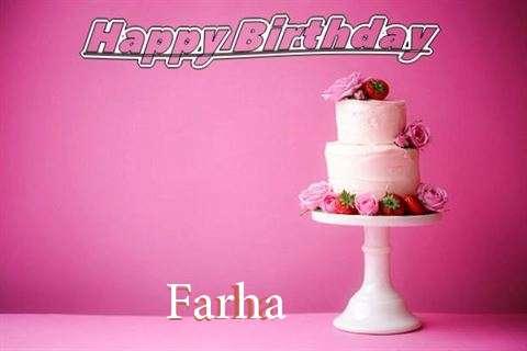 Happy Birthday Wishes for Farha