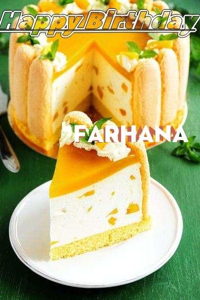 Happy Birthday Wishes for Farhana