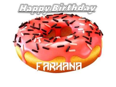 Happy Birthday to You Farhana