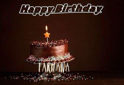 Happy Birthday Cake for Farhana