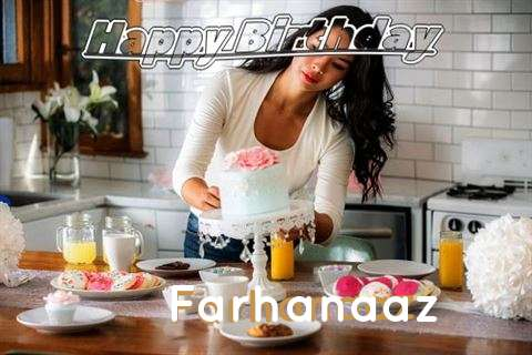 Happy Birthday Farhanaaz Cake Image
