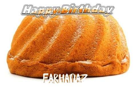 Happy Birthday Farhanaz Cake Image
