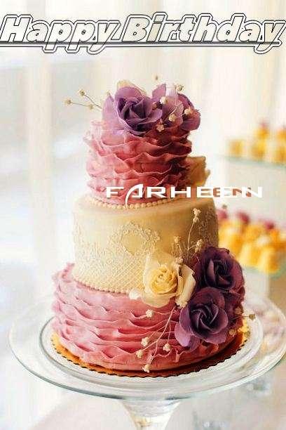 Birthday Images for Farheen