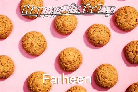Happy Birthday Wishes for Farheen