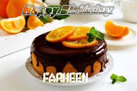Happy Birthday to You Farheen