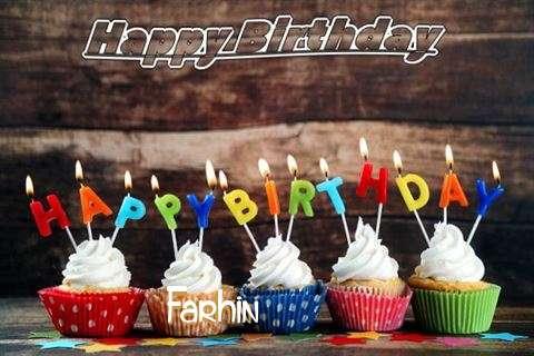 Happy Birthday Farhin Cake Image