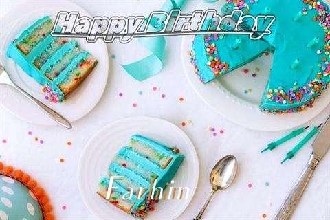 Birthday Images for Farhin