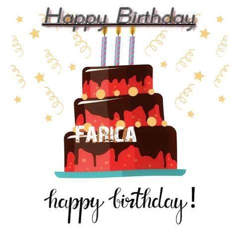 Happy Birthday Cake for Farica