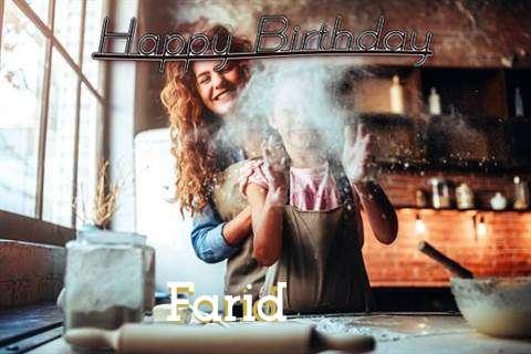 Farid Birthday Celebration
