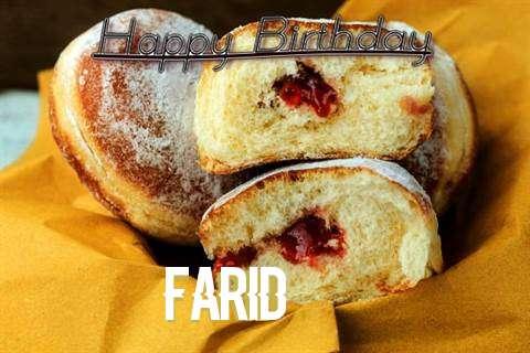 Happy Birthday Cake for Farid