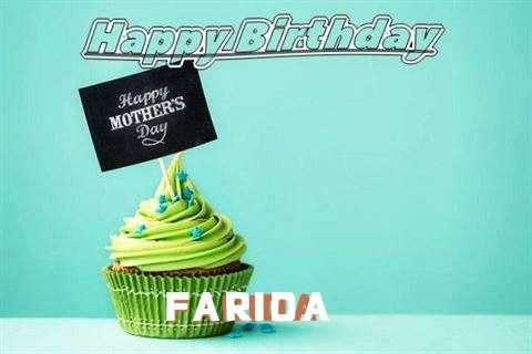 Birthday Images for Farida
