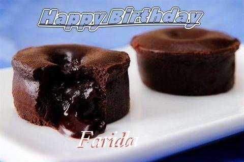 Happy Birthday Wishes for Farida