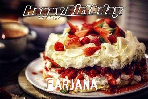 Happy Birthday Farjana