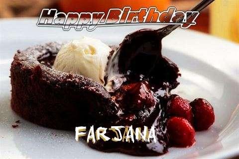 Happy Birthday Wishes for Farjana