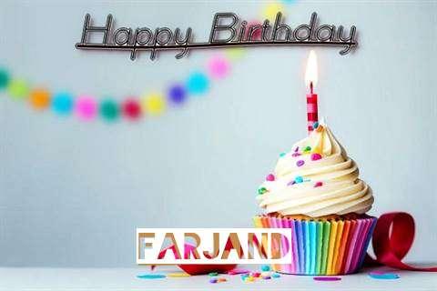 Happy Birthday Farjand Cake Image