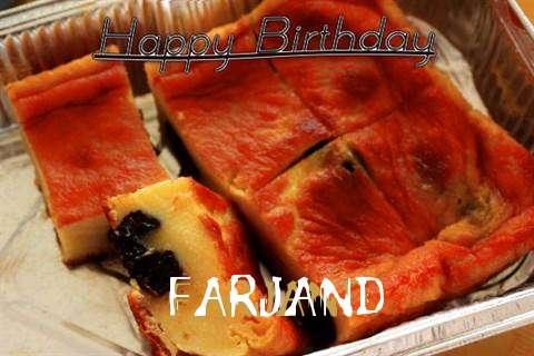 Happy Birthday Cake for Farjand