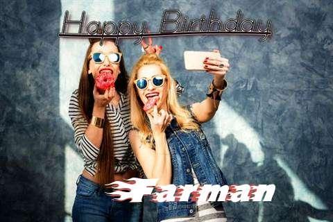 Happy Birthday to You Farman