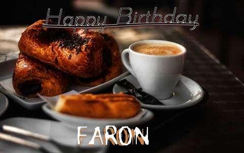 Happy Birthday Faron Cake Image