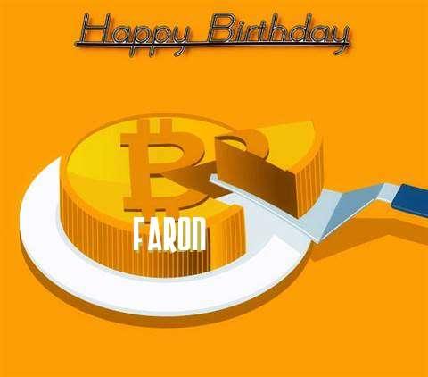 Happy Birthday Wishes for Faron