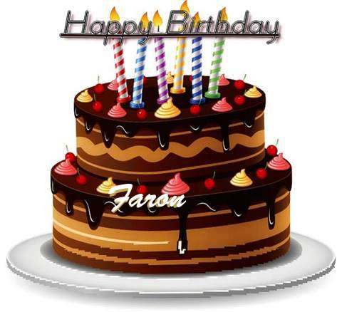 Happy Birthday to You Faron