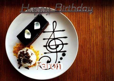 Happy Birthday Cake for Faron