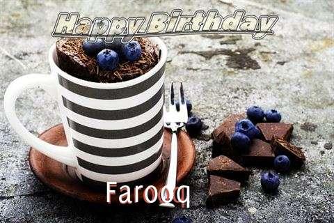 Happy Birthday Farooq Cake Image