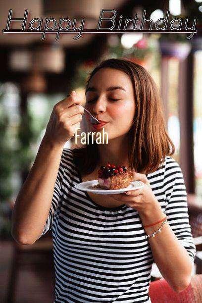 Happy Birthday Farrah Cake Image