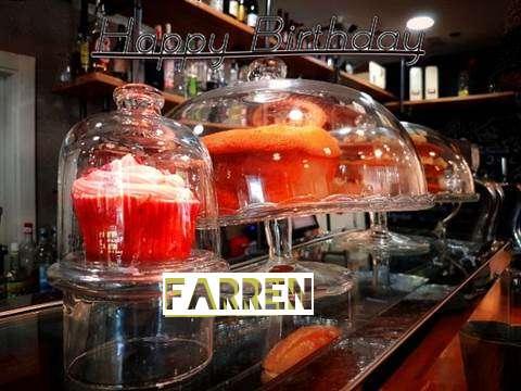 Happy Birthday Wishes for Farren