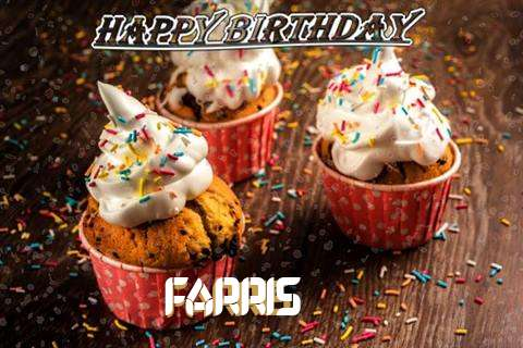 Happy Birthday Farris Cake Image