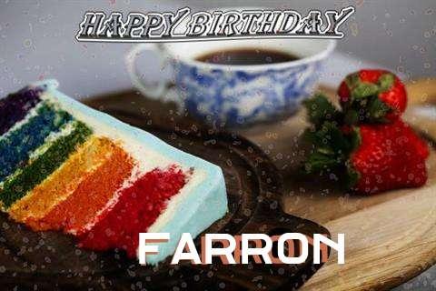 Happy Birthday Wishes for Farron