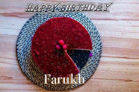 Happy Birthday Wishes for Farukh