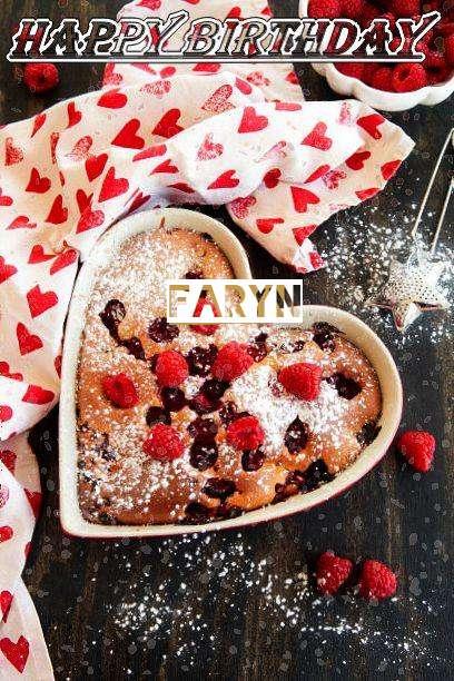 Happy Birthday Faryn Cake Image