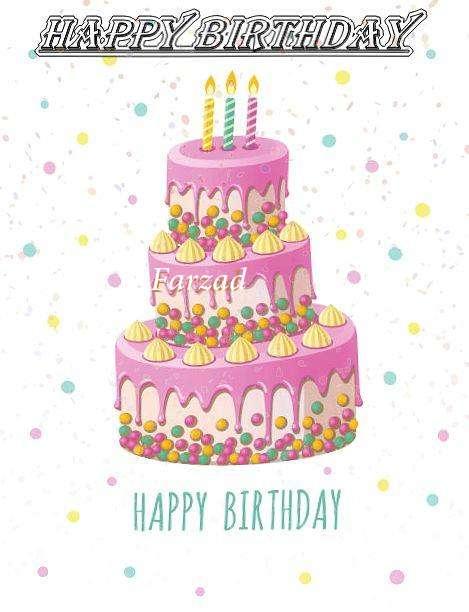 Happy Birthday Wishes for Farzad