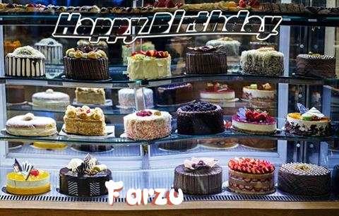 Happy Birthday Farzu Cake Image