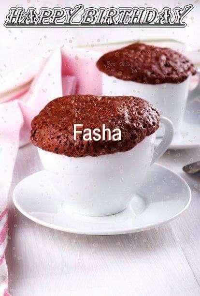 Happy Birthday Wishes for Fasha