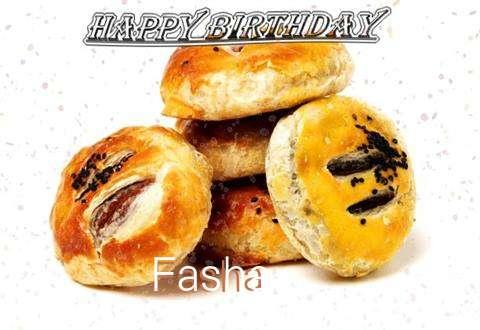 Happy Birthday to You Fasha