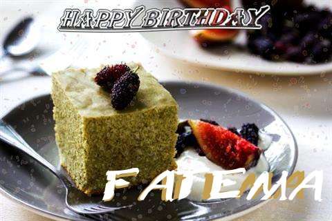 Happy Birthday Fatema Cake Image