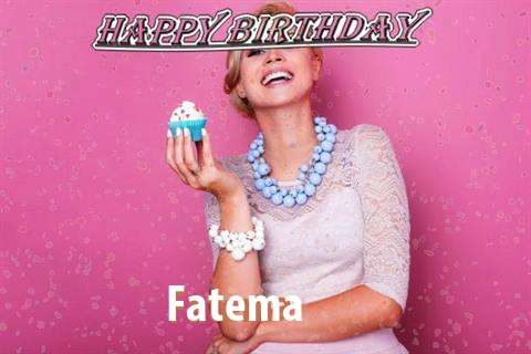 Happy Birthday Wishes for Fatema