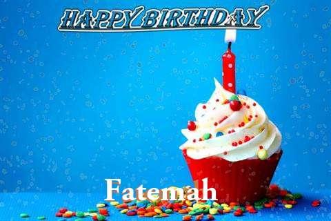 Happy Birthday Wishes for Fatemah