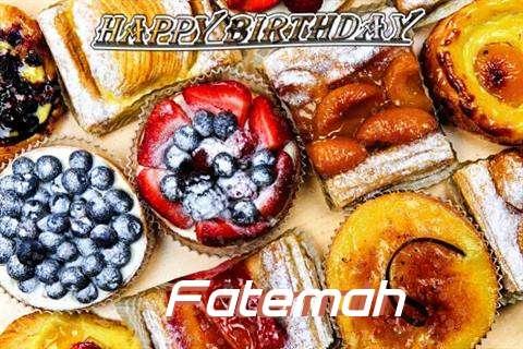 Happy Birthday to You Fatemah