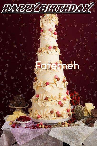 Happy Birthday Fatemeh