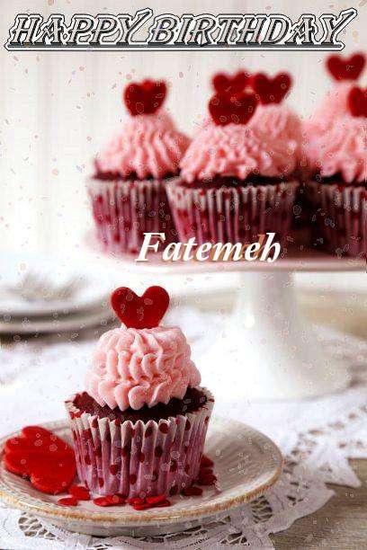 Happy Birthday Wishes for Fatemeh