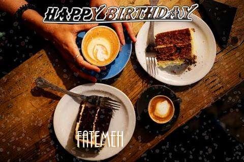 Happy Birthday to You Fatemeh